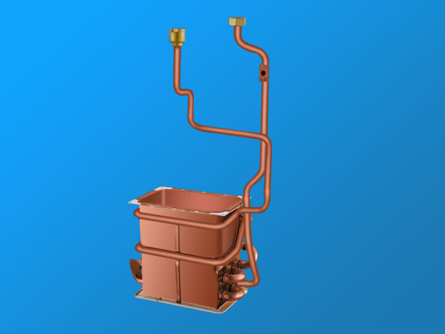 WYH12L anaerobic copper heat exchanger